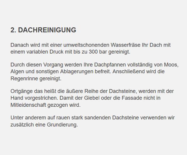 Dachreinigungen für 71638 Ludwigsburg