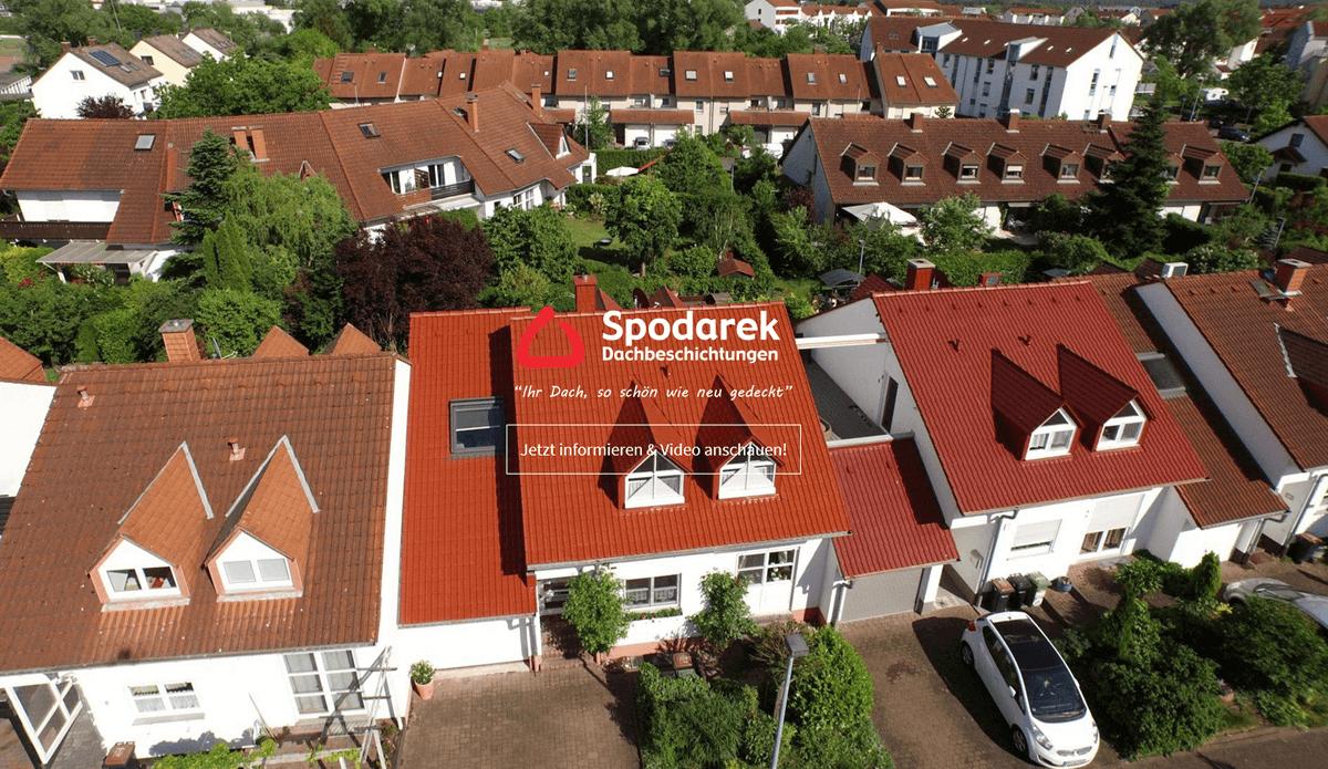 Dachreinigung Ludwigsburg | 🥇 Spodarek-Dachbeschichtungen ➤ Dachsanierung, ✓ Dachbeschichtung